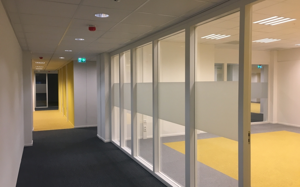 oplevering werkruimtes Tranzo Tilburg University