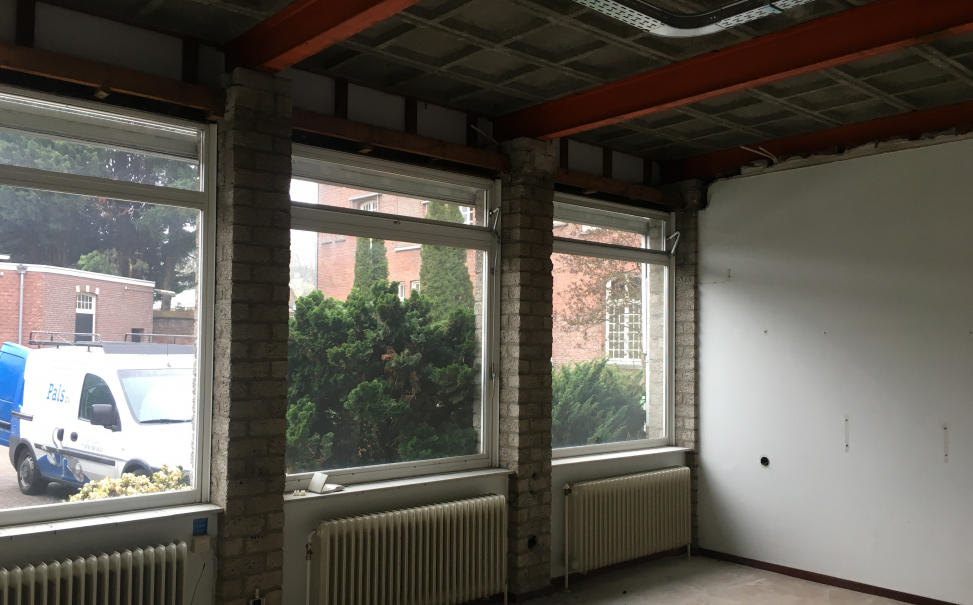 Verbouwing kantoor Custodialaat