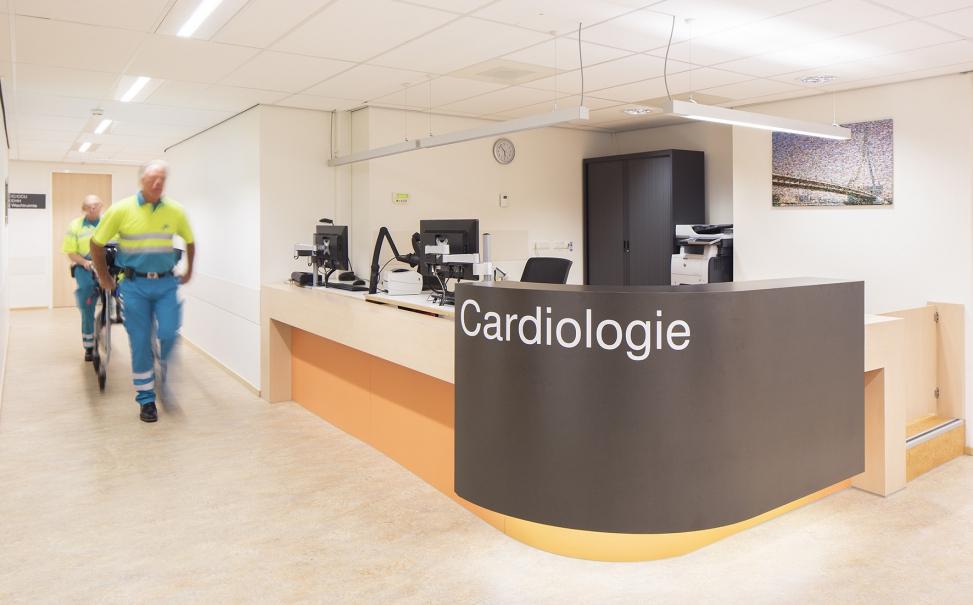 renovatie poliklinieken + intensive care