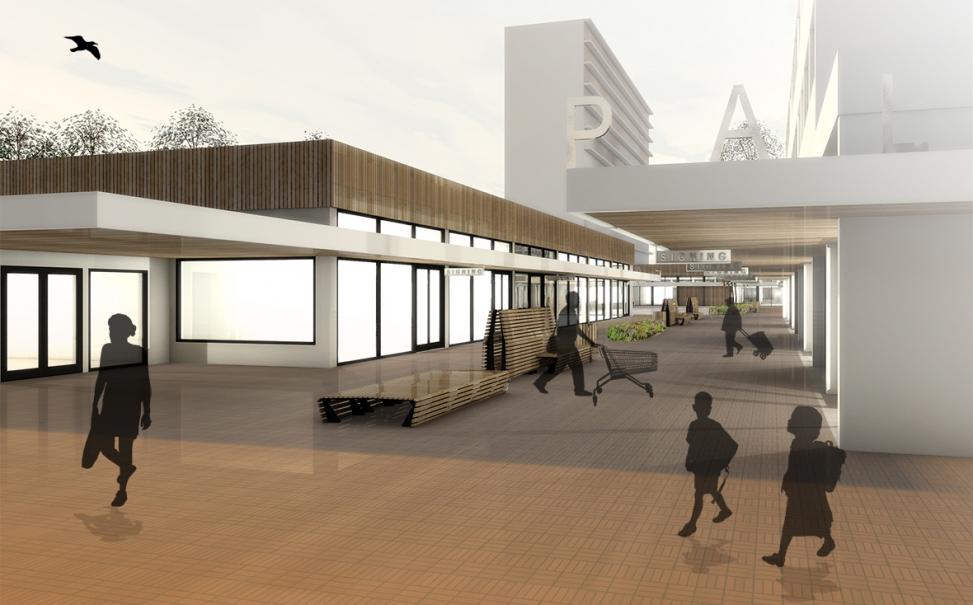 winkelcentrum Paletplein
