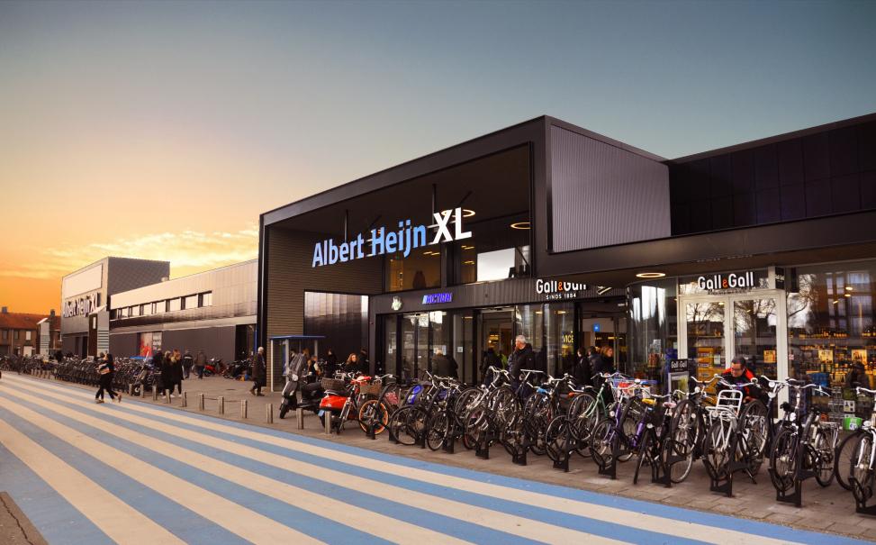 renovatie winkelcentrum AH XL